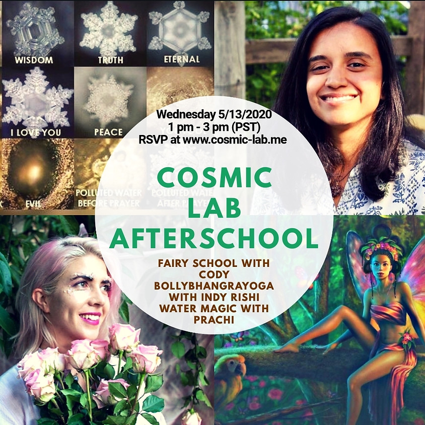 Weekly Wednesday Cosmic LAB for Kids - 5/13