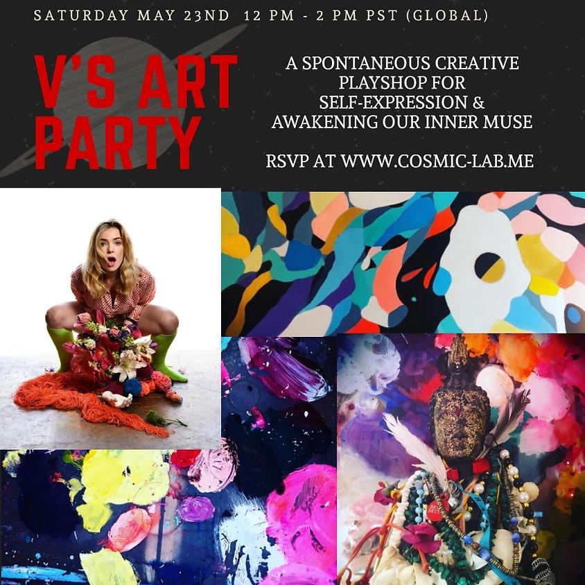 V's Art Party