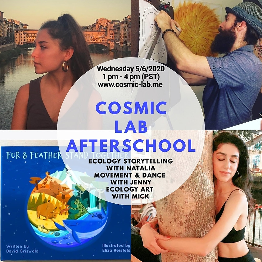 Weekly Wednesday Cosmic LAB for Kids - 5/6