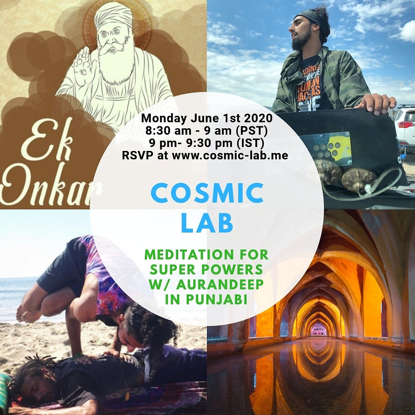 Meditation for Super Powers (in Punjabi!)