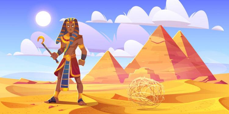 ancient-egyptian-pharaoh-with-rod-desert