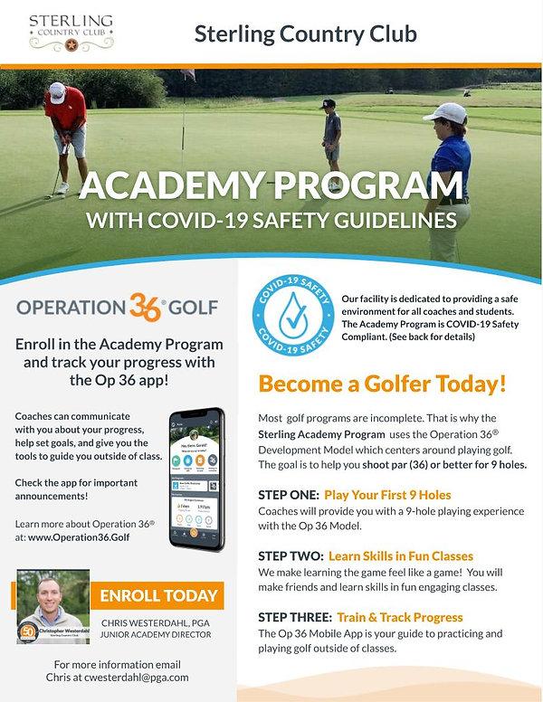 COVID-19 Academy Program Flier 2020 (1).