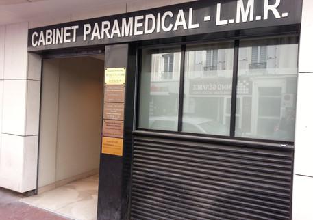 Entrée cabinet paramédical