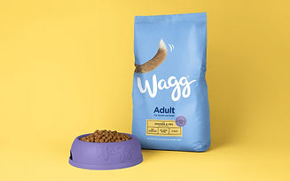 wagg adult chicken dry food premium economy
