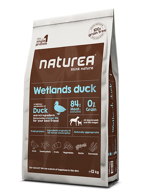 Grain Free Wetlands Duck 12kg