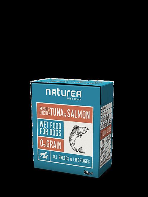 Chicken w/ Tuna & Salmon 375g
