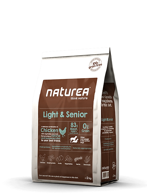Grain Free Light & Senior 2kg
