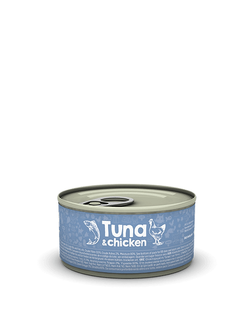 Tuna & Chicken 85g