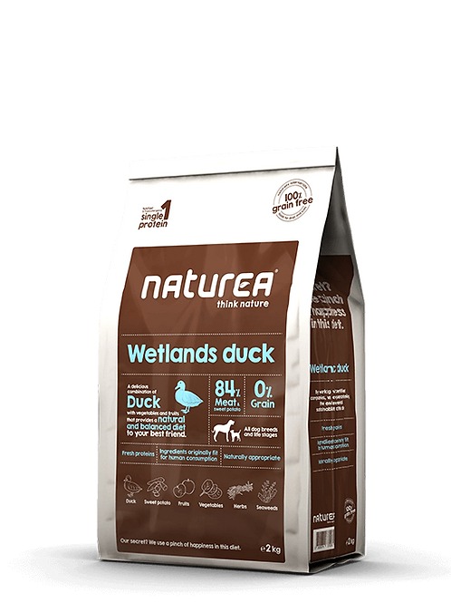 Grain Free Wetlands Duck 2kg