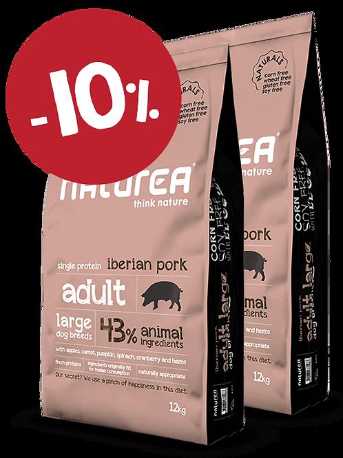 Naturals Adult Large Iberian Pork 24kg