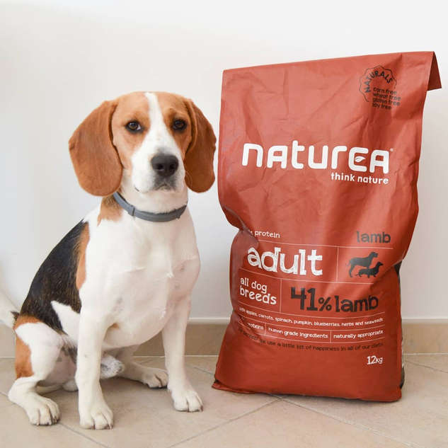 naturea lamb dog dry food