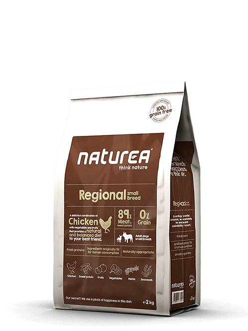 Grain Free Regional Small Breed 2kg