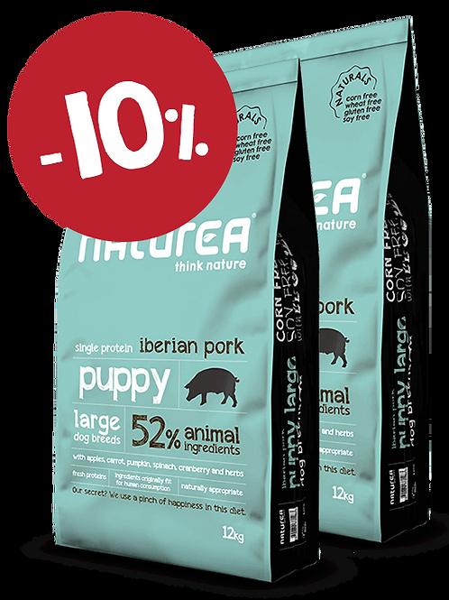 Naturals Puppy Large Iberian Pork 24kg