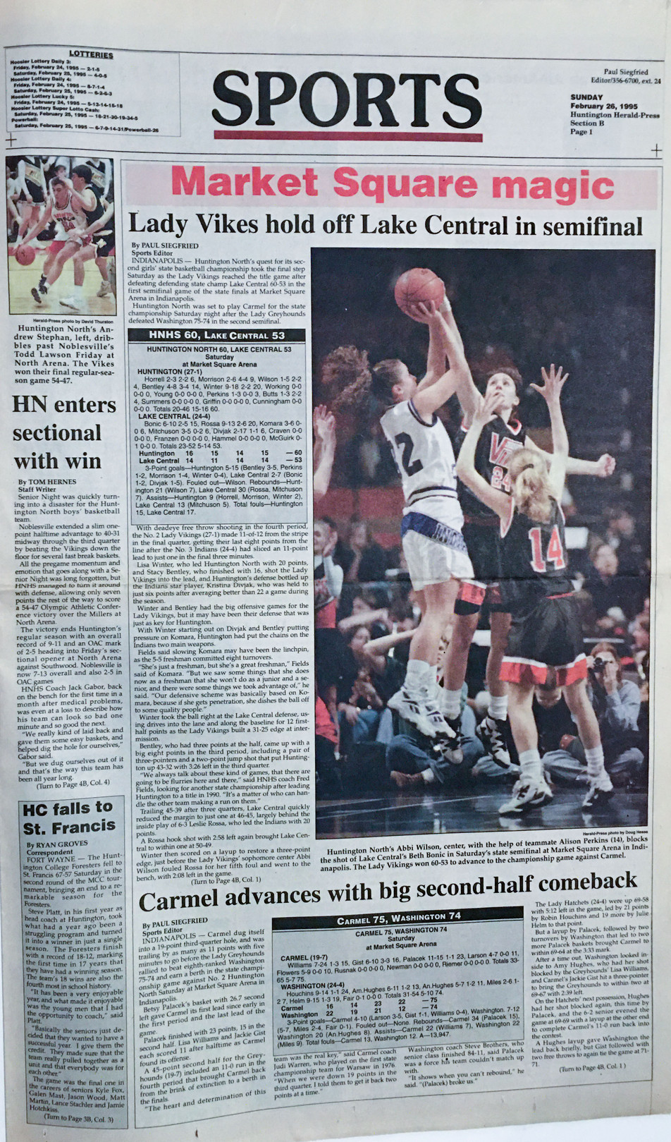 1990 State Semifinals