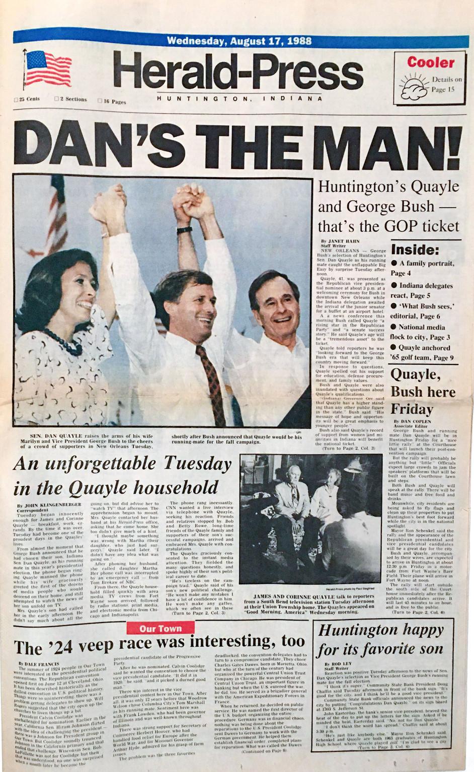 Dan's the Man