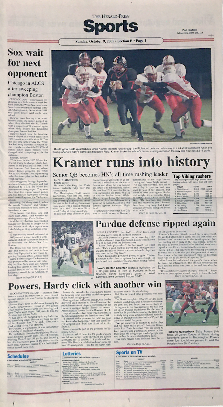 Kramer record