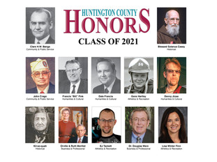 Class of 2021 of Huntington County Honors is announced