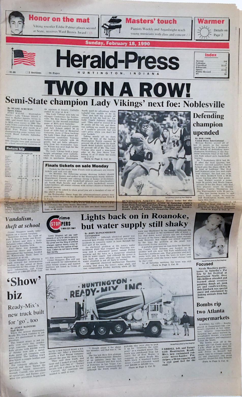 1990 Semistate Champs