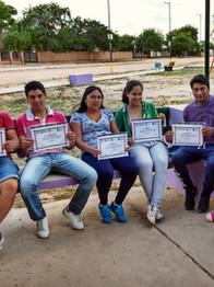 Entrenamientos laborales a jovenes sobre gestión de desarrollo local.