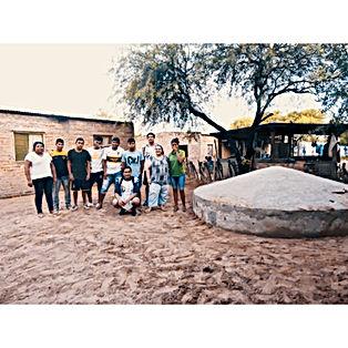 Cisterna en B° Carpintero - GSC Y FUNDACION DELALTO
