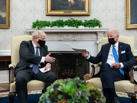 PM's hopes of post-Brexit trade deal with the US downplayed by President Biden