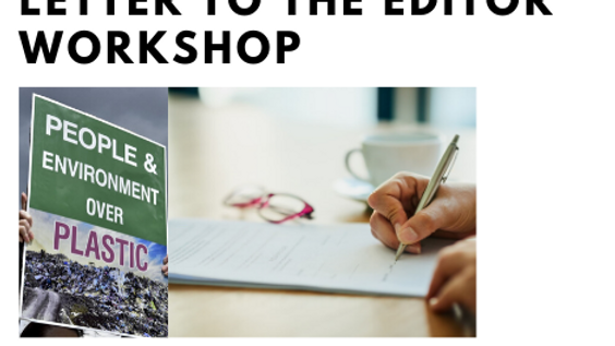 Letter to the Editor/Op-ed Workshop