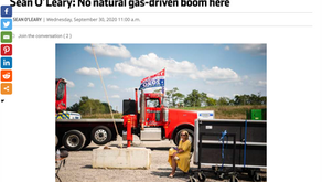 No natural-gas-driven boom here