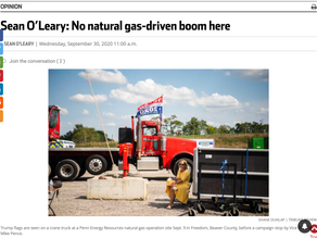 No natural-gas-driven boom here