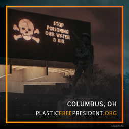 National Projection Campaign Calls on President-Elect Biden to Address the Plastic Pollution Crisis