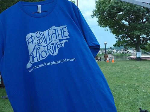 #SaveTheOhioRiver T-shirt
