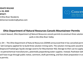 Ohio Department of Natural Resources Cancels Mountaineer Permits