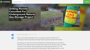 Local, Industry Media Cover Drilling Permit Cancellation