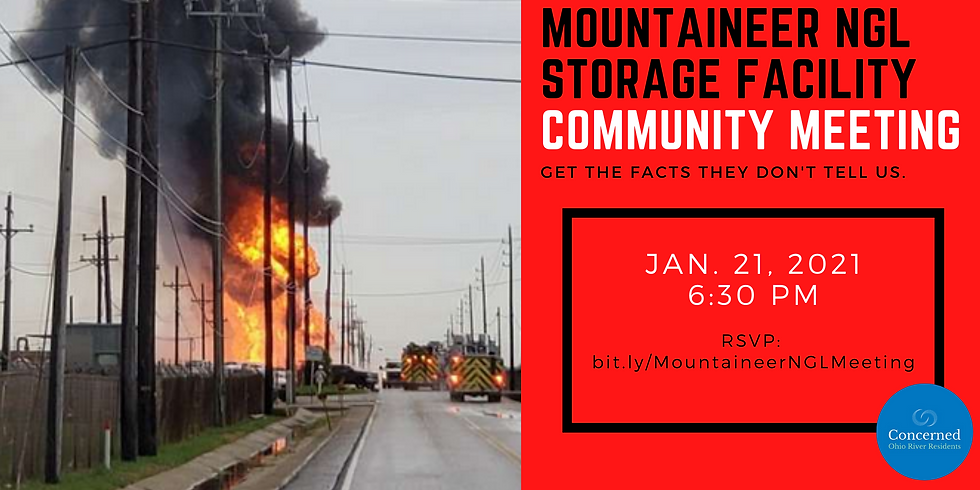 Mountaineer NGL Storage Facility Community Meeting