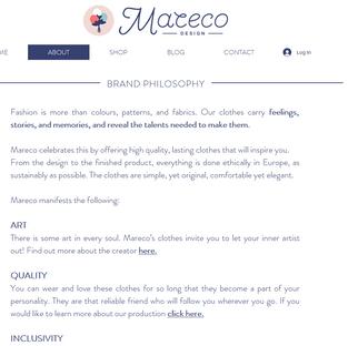 Mareco Website