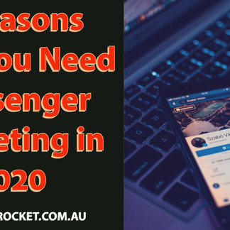 7 Reasons Why You Need Messenger Marketing in 2020