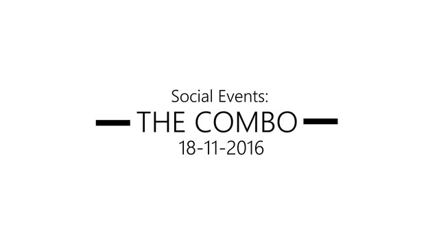 The Combo 2016