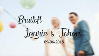 Bruiloft Laurie & Johan
