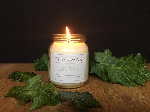 Thaxwax Lemongrass & Eucalyptus 300ml candle