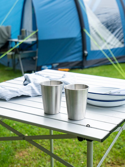 Stainless Steel Cups 4pk