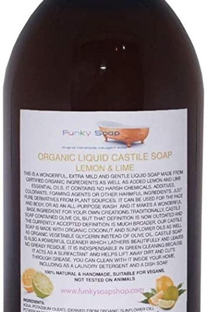 Castile Soap Lemon & Lime