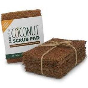 Coconut Fibre Scrub Pad 5pk