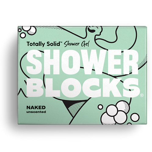 Shower Blocks - Naked Unscented