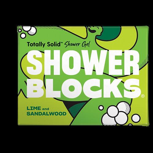 Shower Blocks - Lime & Sandalwood