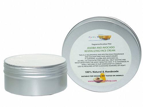 Jojoba And Avocado Revitalising Face Cream