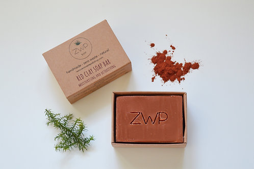 Soap Bar ZWP - Red Clay