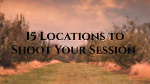 15 Locations to Shoot Your Session