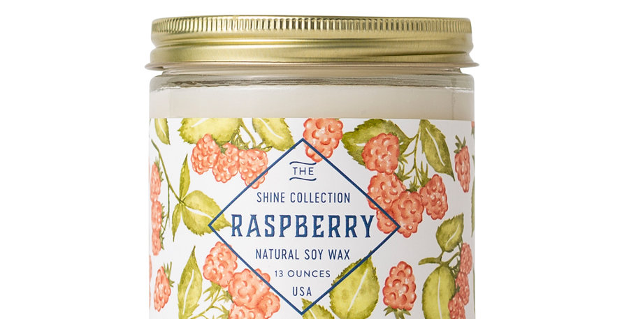 Raspberry Soy Candle