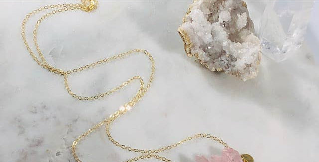 Miri Quartz Crystal Necklace -