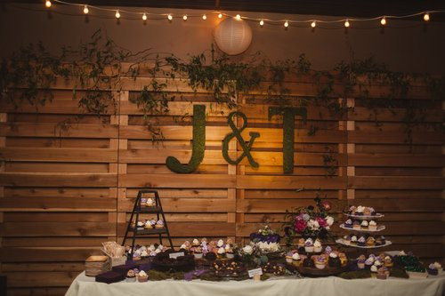 Cake Table and Backdrop