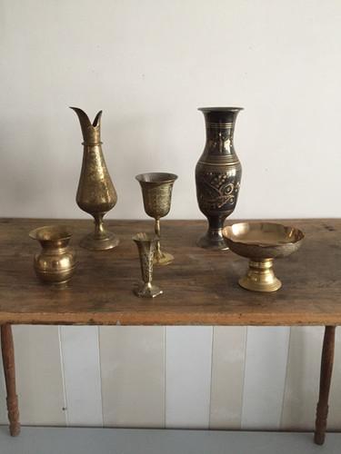 Assorted Antique Brass